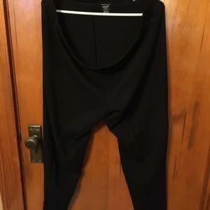 TORRID Basic black leggings, 3X.